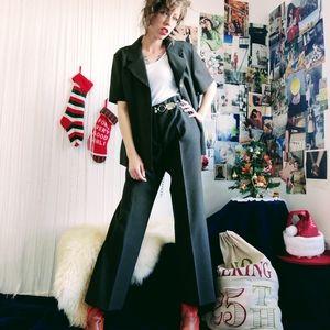 Vintage Short Sleeve Pantsuit